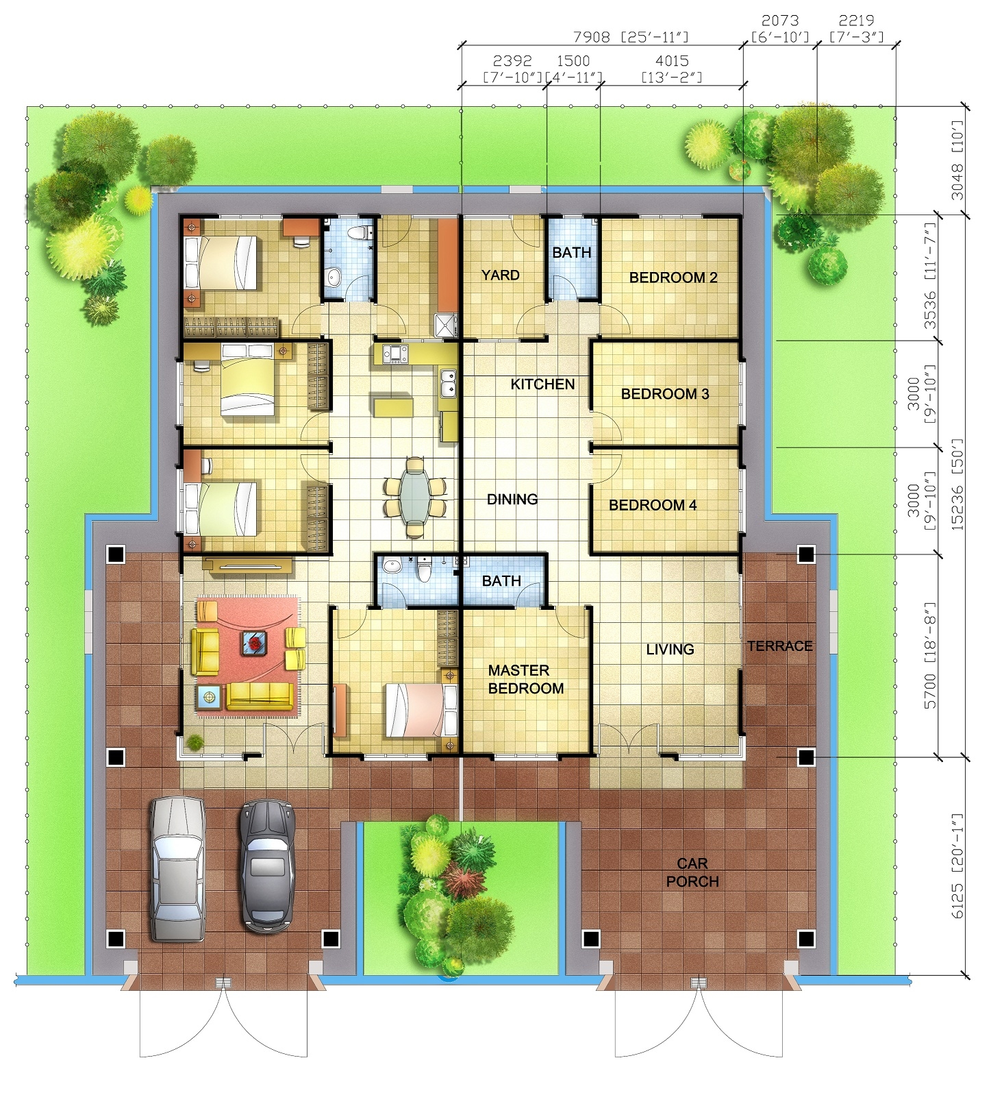 Floor-Plan-For-Single-Storey-Semi-D