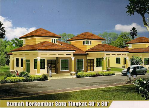 PDG Property TAMAN BUKIT KATIL PERMAI - 1300 Sq Ft House